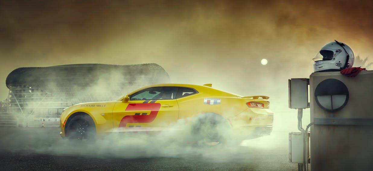 Chevrolet Camaro drag driving experience