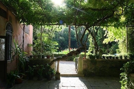 Jardins secretos de Veneza passeio a pé