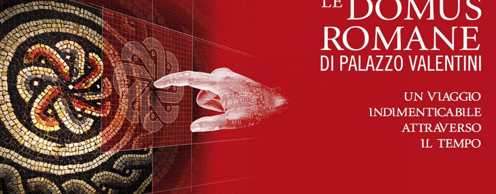 Visita guiada Domus Romane de Palazzo Valentini