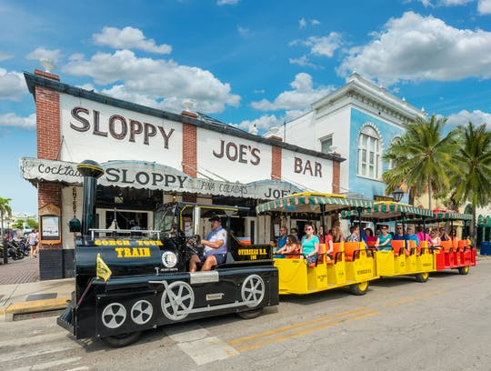 Conch Tour Train of Key West 1 and 2-day tickets