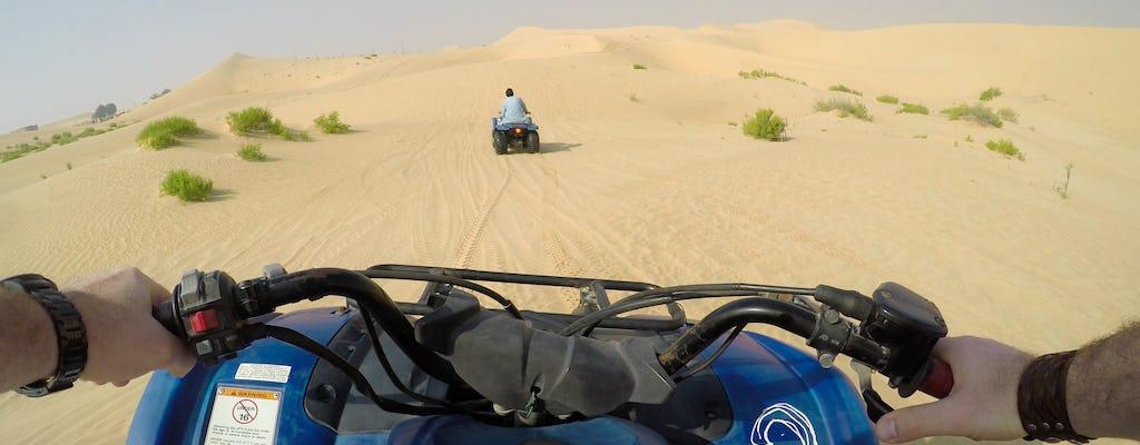Dubai quad bike safari with optional dinner