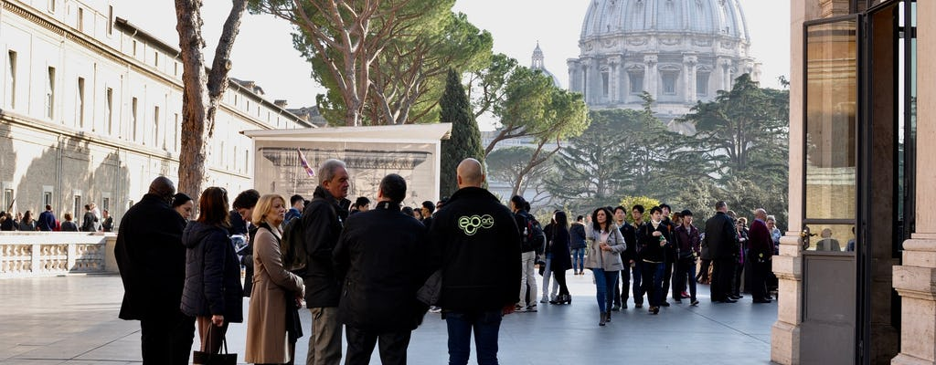 Stories of the Vatican skip-the-line afternoon tour