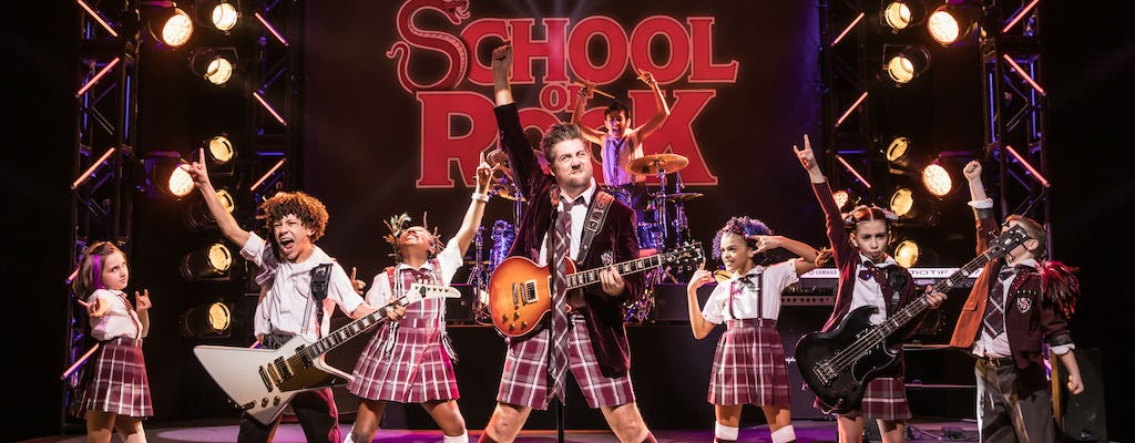 Tickets to School of Rock the Musical on Broadway