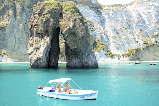 Swimming & snorkeling boat day-trip to Ponza Island from Rome