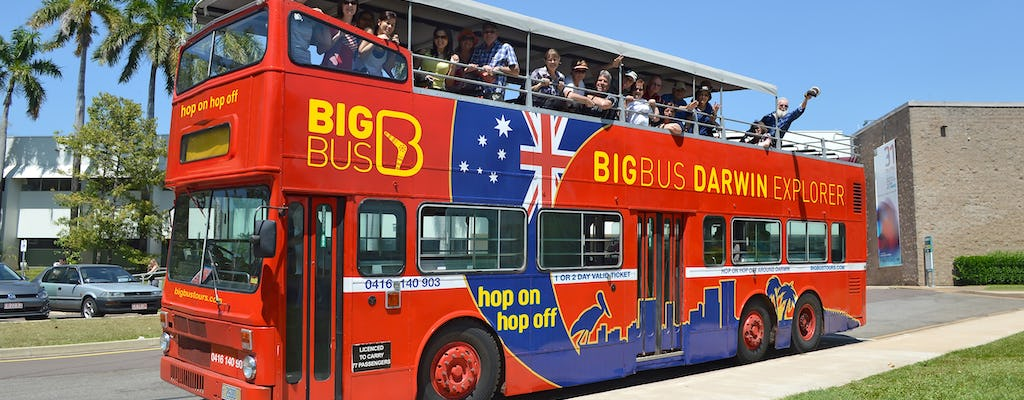 Hop-on hop-off Big Bus Darwin tickets
