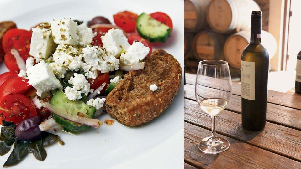Gastronomía,Comidas y cenas especiales,Tours enológicos,Tour por Santorini