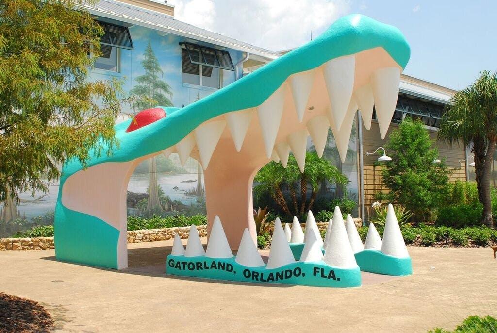Gatorland theme park and wildlife preserve