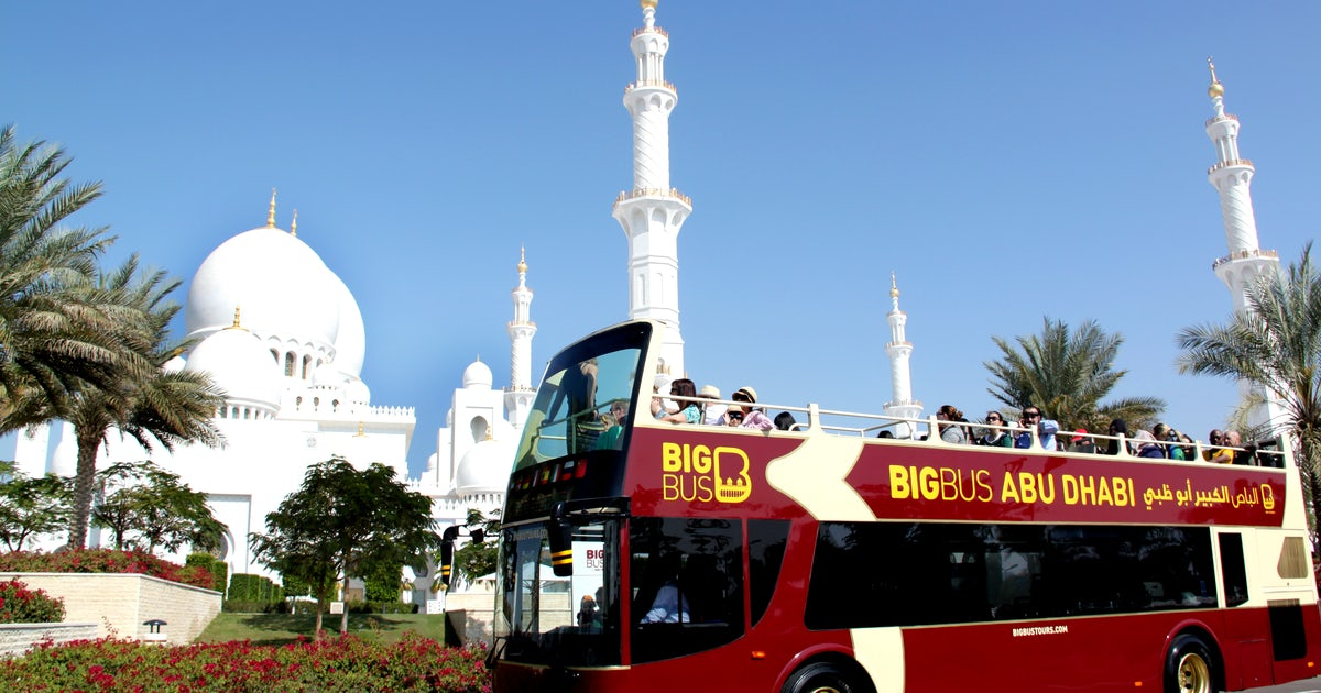 Hop-on hop-off Big Bus Abu Dhabi tickets