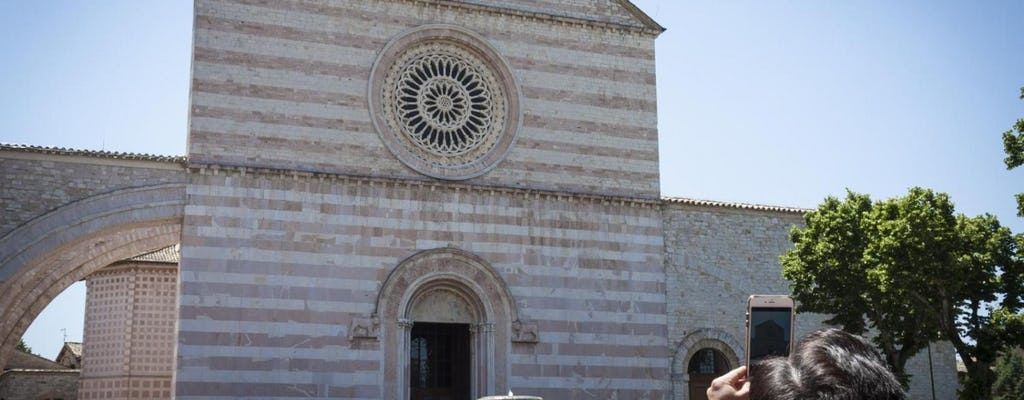 Day-tour to Assisi and St Francis Basilica from Rome