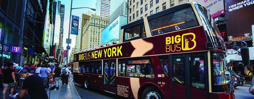 Big Bus tour of New York