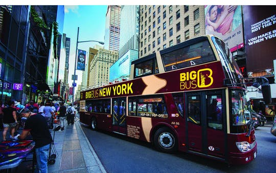 Tour Big Bus di New York
