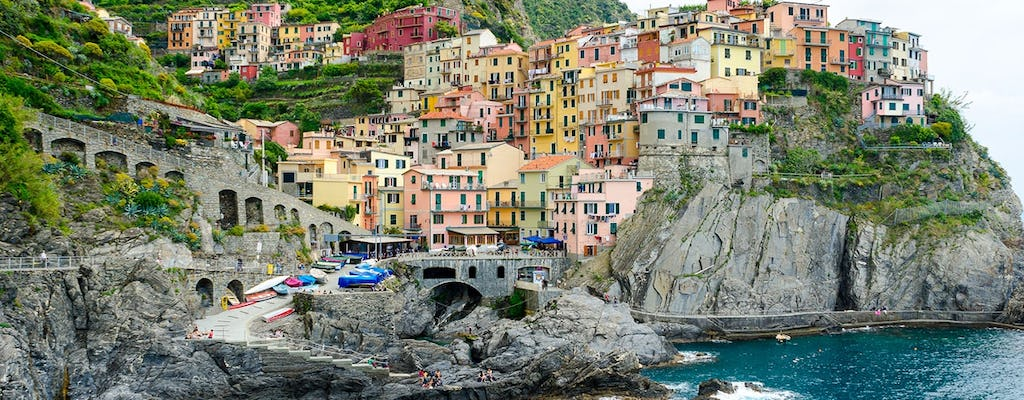 Cinque Terre full-day trip from Milan