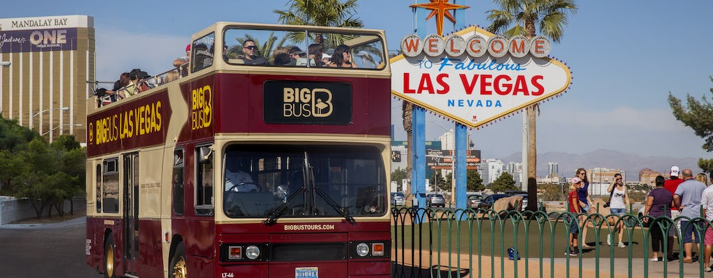 Big Bus tour of Las Vegas