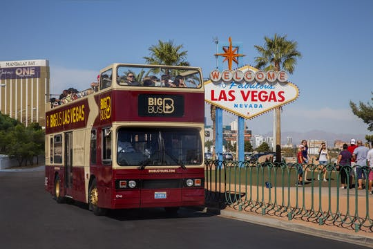 Tour en Big Bus de Las Vegas