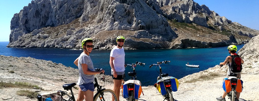E-bike tour van Marseille naar Calanques