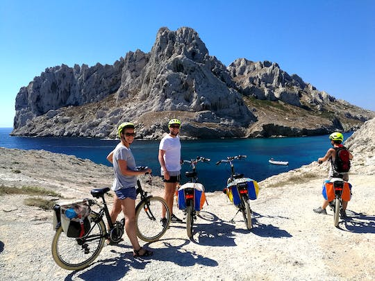 E-bike tour from Marseille to Calanques