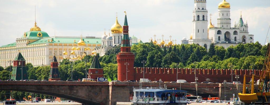 Excursão privada ao centro da cidade de Moscou