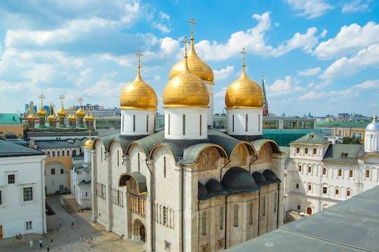 Entradas para la Plaza de la Catedral en el Kremlin de Moscú