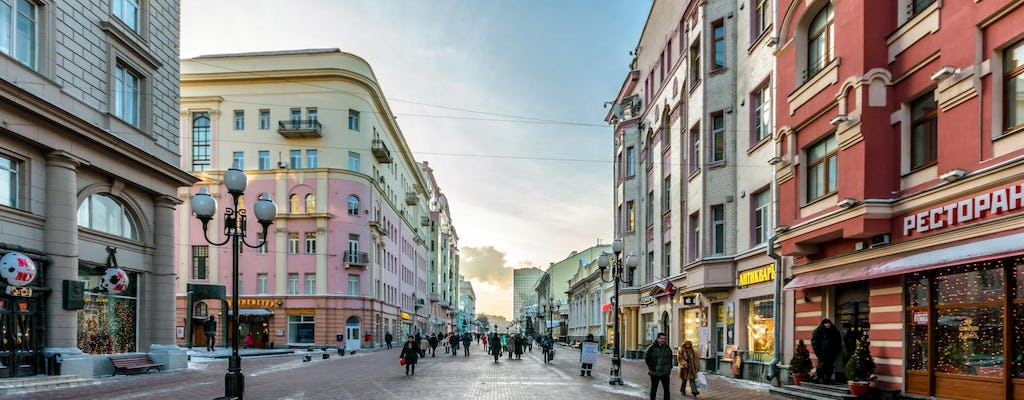 Old Arbat Street private tour in Moscow