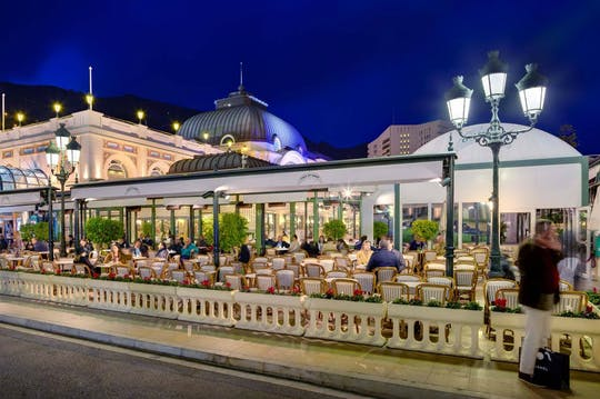 Evening tour and Gourmet dinner in Monte Carlo