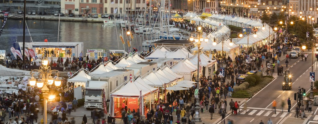 Barcolana 2017, off-the-beaten-track walking tour of Trieste