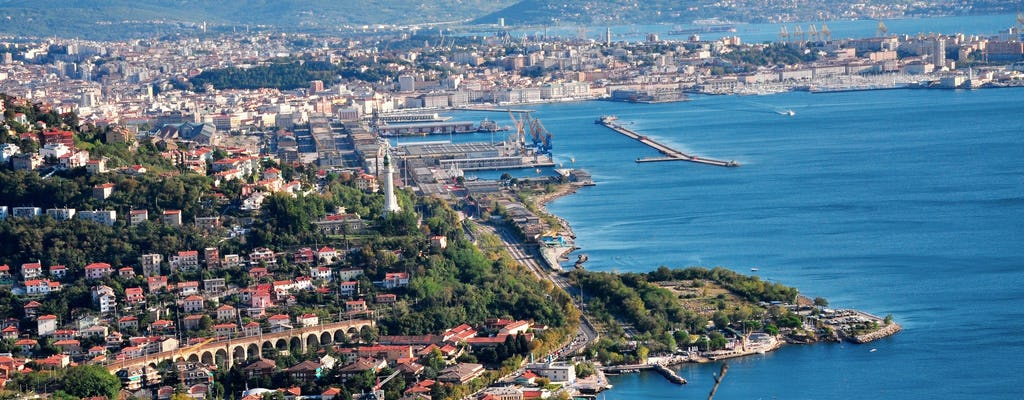 Barcolana 2017, panoramic tour of Trieste and castles
