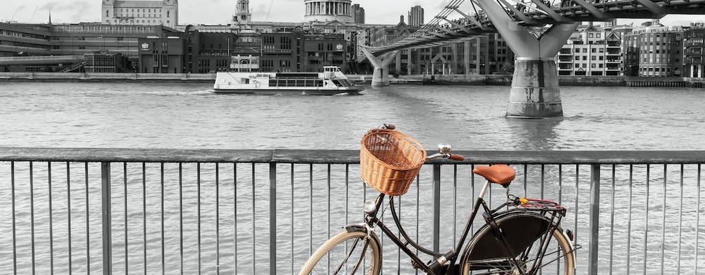 Recorrido en bici por el Támesis