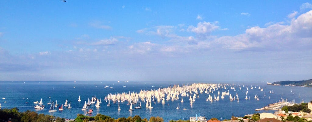 Barcolana 2017, lunch on the terrace