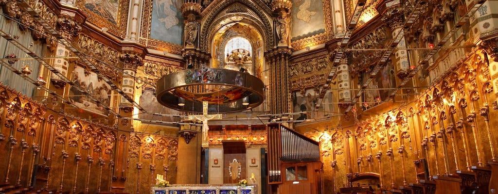 Монтсеррат экскурсия из Барселоны и Собор Святого семейства половине дня экскурсия