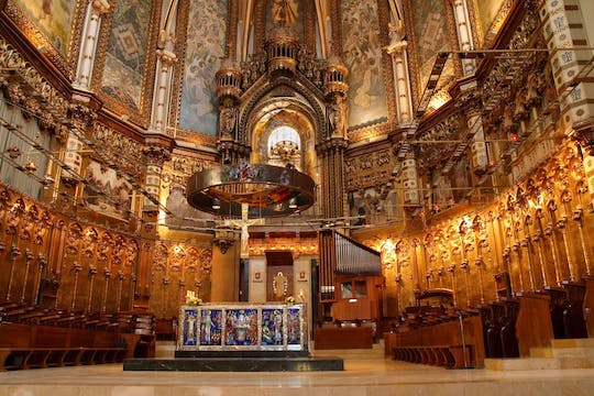 Montserrat morning tour from Barcelona and Sagrada Familia afternoon guided visit