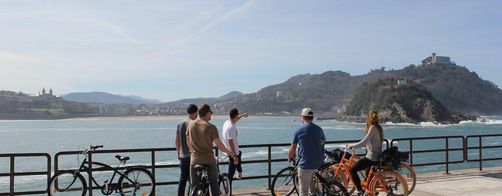 Tour in bicicletta della città di San Sebastian
