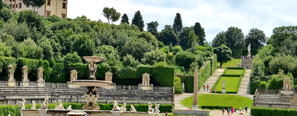 Florence Medici tour with tickets to Boboli Gardens