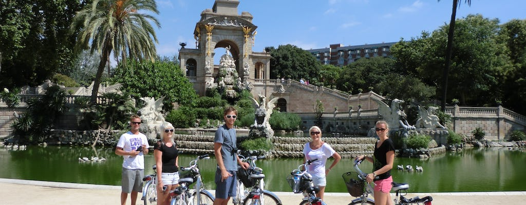 Five neighborhood Barcelona guided e-bike tour