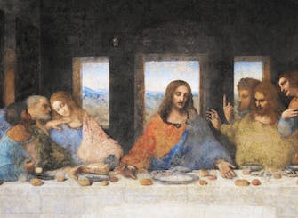 Exclusive Da Vinci's Last Supper tour by night with dinner at Eataly