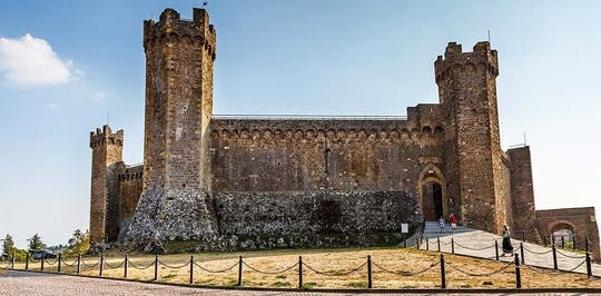 Montalcino, Pienza and Montepulciano food and wine tour from Pisa