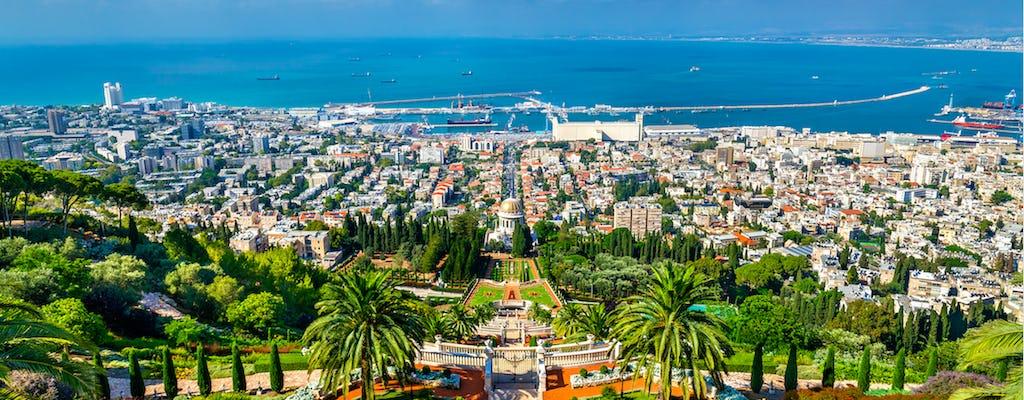 Caesarea, Acre y Haifa de día completo.