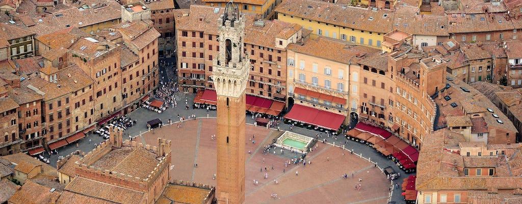 Visita guidata di Siena, San Gimignano, Chianti e Monteriggioni con pranzo