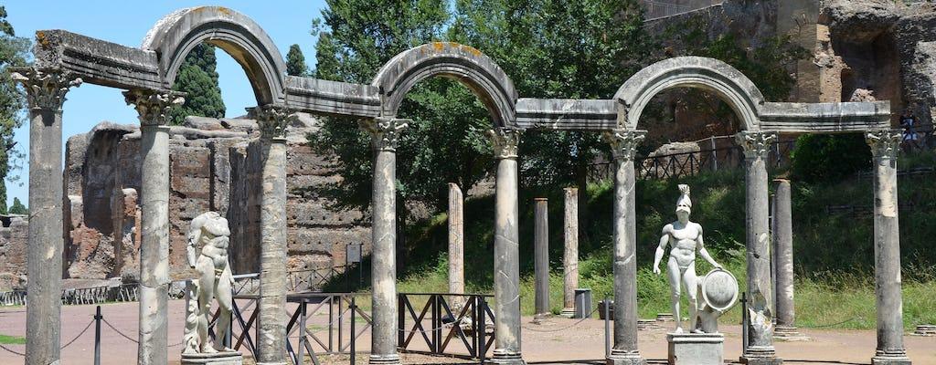 Вилла Д'Эсте и Вилла Адриана индивидуальная экскурсия из Рима