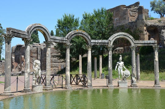 Villa D'Este en Villa Adriana privétour vanuit Rome