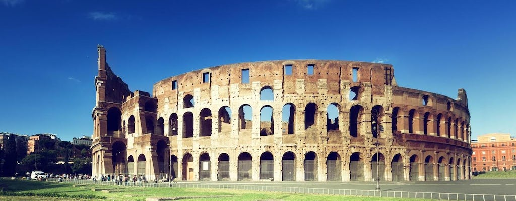 Rome in one day with Colosseum and Vatican tour