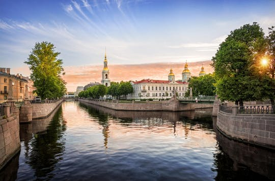 St Petersburg full day private customized walking tour