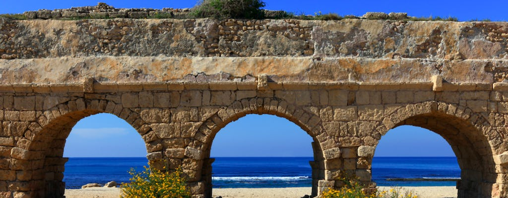 Caesarea, Acre and Golan 2-day tour with hotel