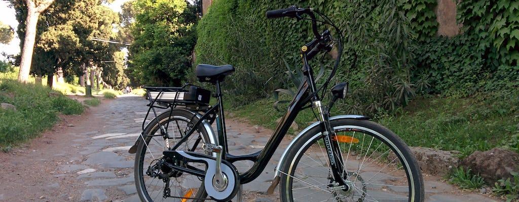 Location d'un E-Bike pour une journée avec visite du Parc Appia Antica