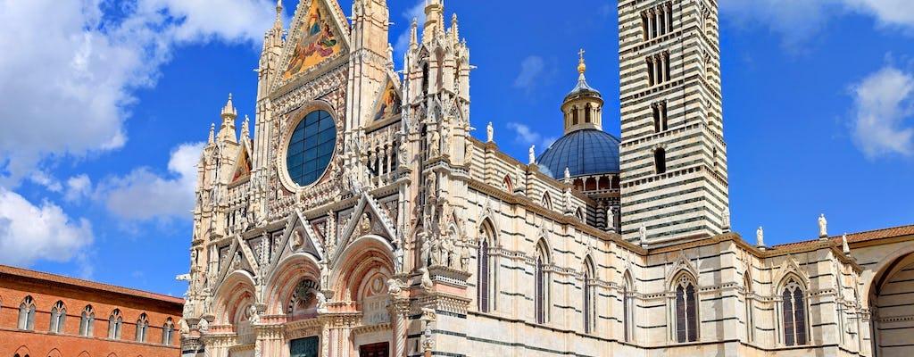 Wycieczka San Gimignano, Siena i Chianti z Lukki