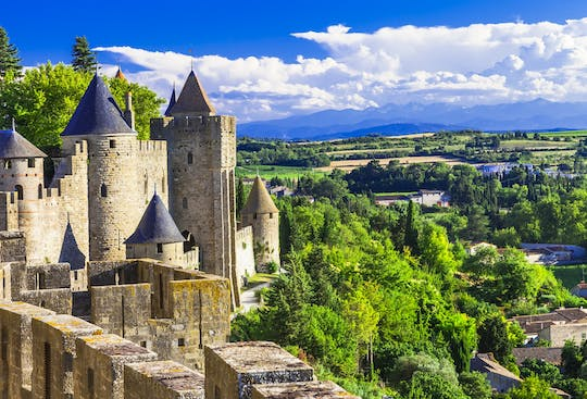 Trip to Carcassonne the fortified city from Toulouse