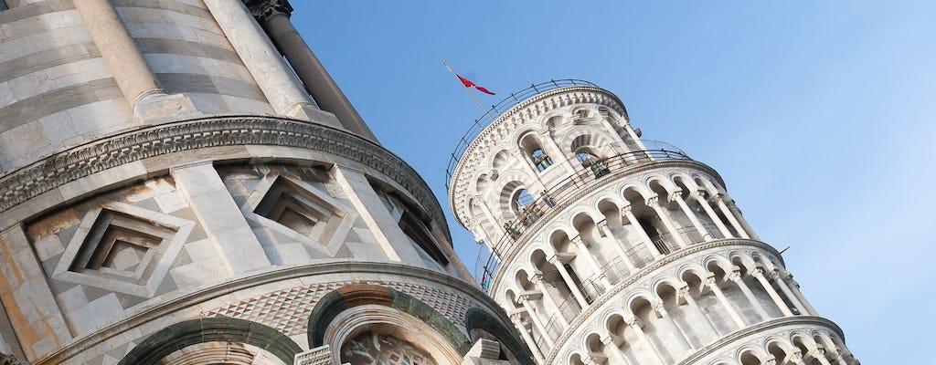 Tour de medio día por la mañana de Pisa desde Montecatini