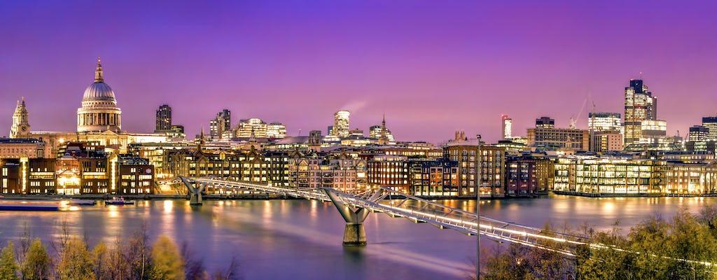 Descubra la ruta premium de Londres por carretera y río