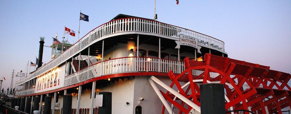 Steamboat Natchez Abend Jazz Kreuzfahrt mit Abendessen