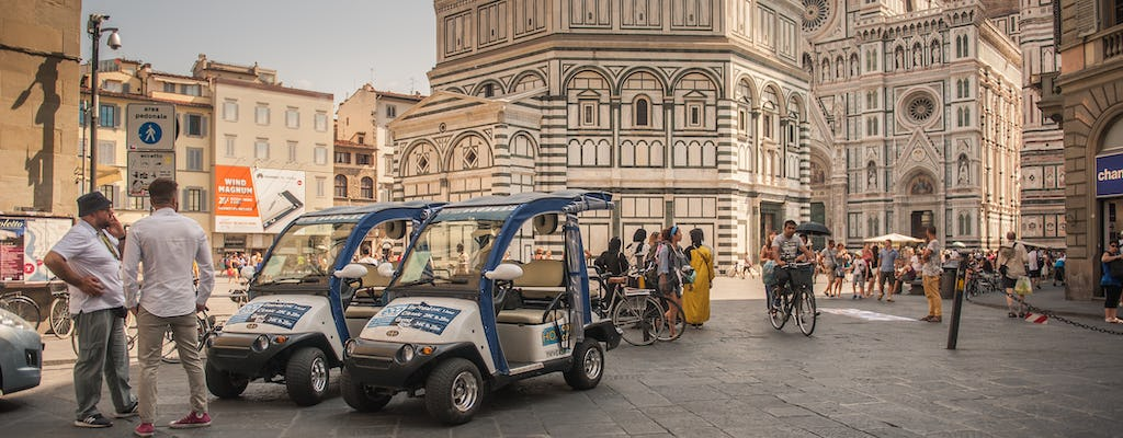 Grand tour ecologico di Firenze con golf cart