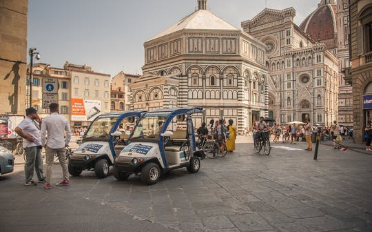 Florence eco-tour by golf cart